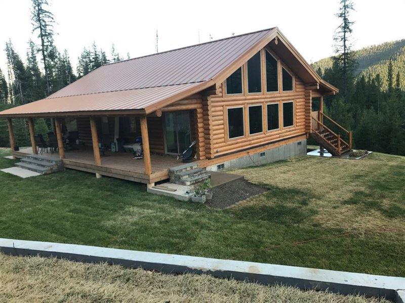 Elk Ranch : Saltese : Mineral County : Montana