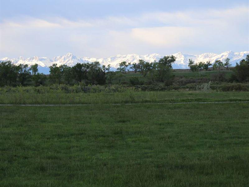 Circle H Ranch Parcel 3 : Montrose : Montrose County : Colorado