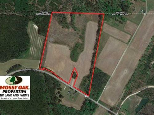 Under Contract, 36 Acres of Hunti : Seaboard : Northampton County : North Carolina