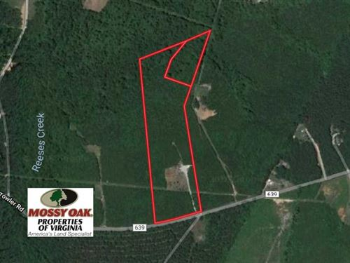 Under Contract, 18 Acres of Resid : Drakes Branch : Charlotte County : Virginia
