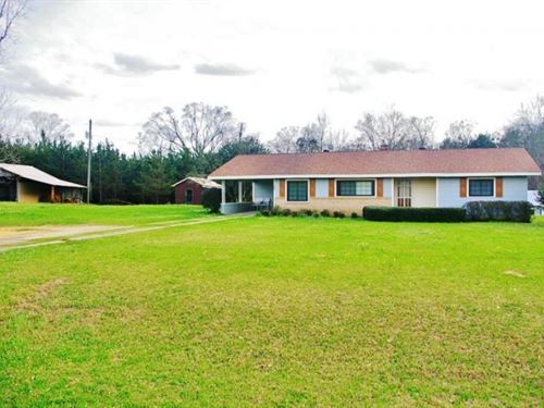 Home & 42 Acres In Southwest Ms : New : Pike County : Mississippi