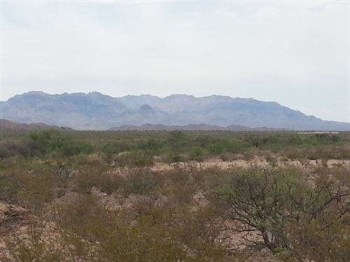 60 Ac, Foreclosure Only $328/Mo : Sierra Blanca : Hudspeth County : Texas
