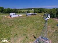 Smith-Heffner Cattle Farm : Clinton : Laurens County : South Carolina
