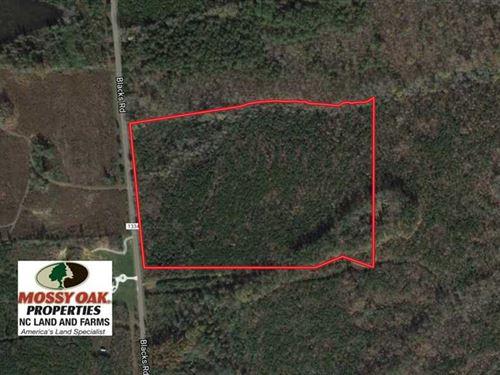 25.04 Acres of Hunting Land For Sa : Macon : Warren County : North Carolina