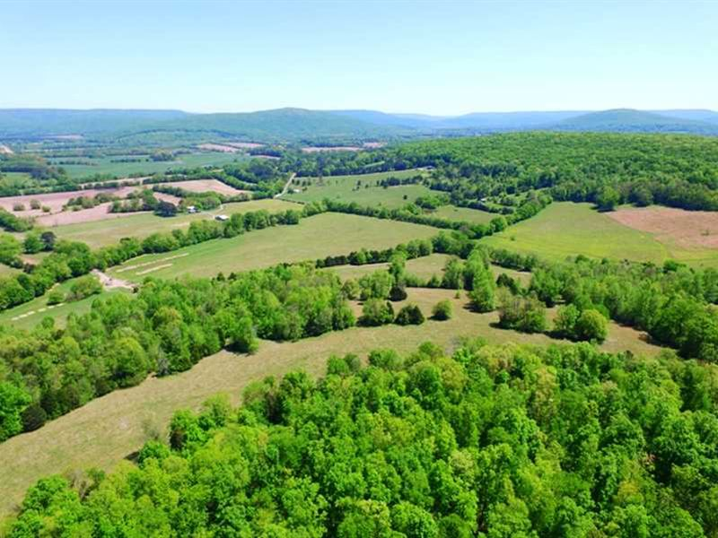 155 Acres Overlooking Country Side : Huntsville : Madison County : Alabama