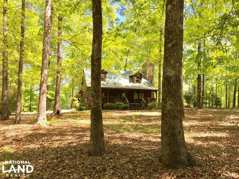 Chilton County Cabin & Farm : Montevallo : Chilton County : Alabama