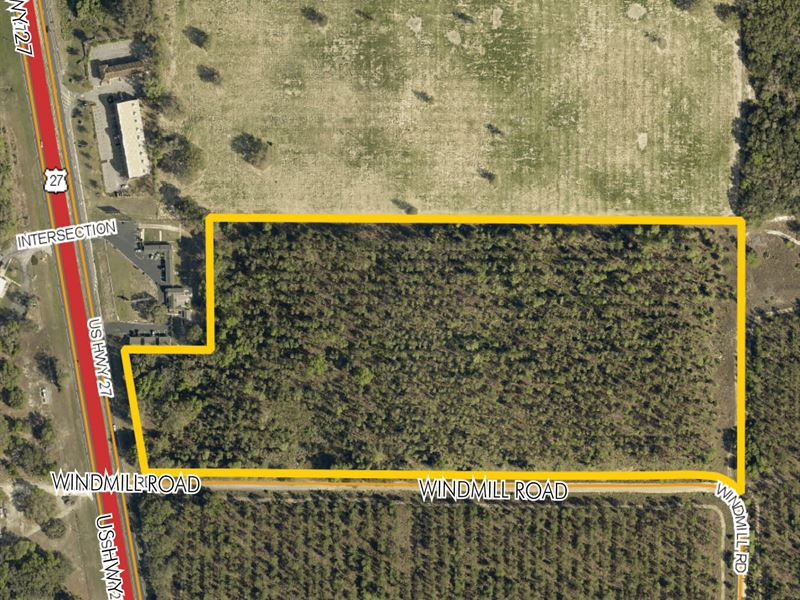 Prime Development Land On Us Hwy 27 Farm For Sale Leesburg