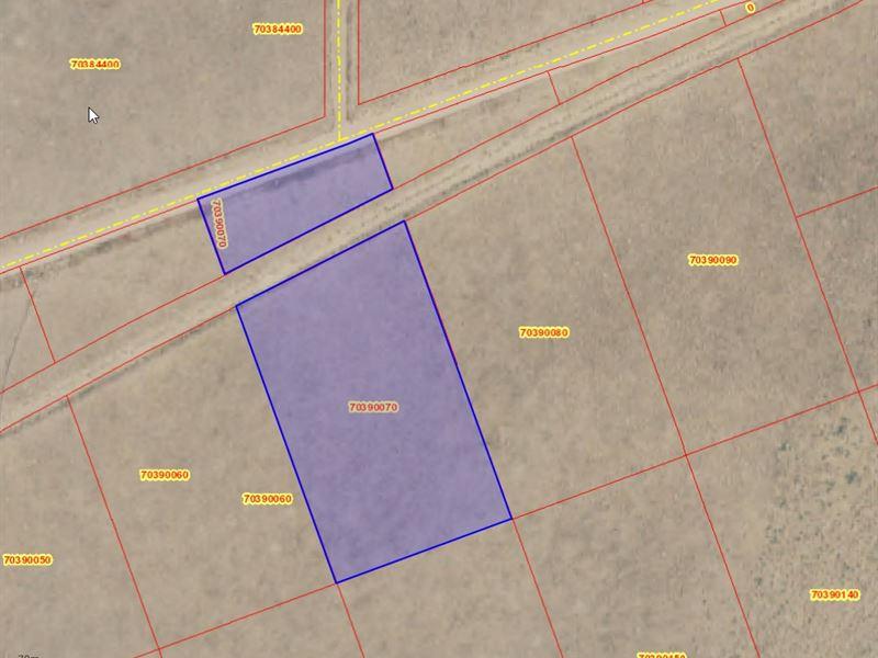 5 Ac, S.L.V.R. Costilla County, Co : San Luis : Costilla County : Colorado