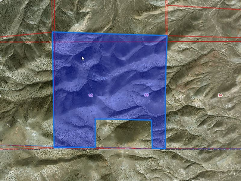 599.22 Acres In Humboldt County, Nv : Humboldt : Humboldt County : Nevada