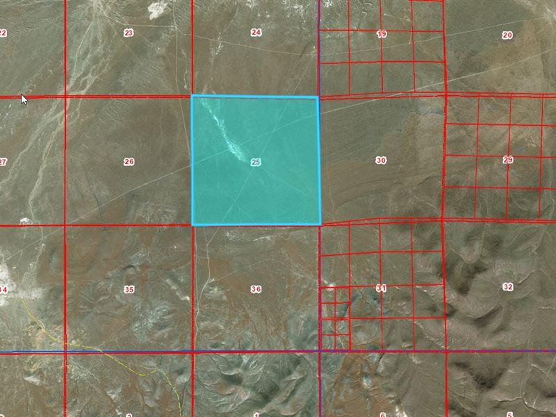 640 Acres In Humboldt County, Nv : Humboldt : Humboldt County : Nevada