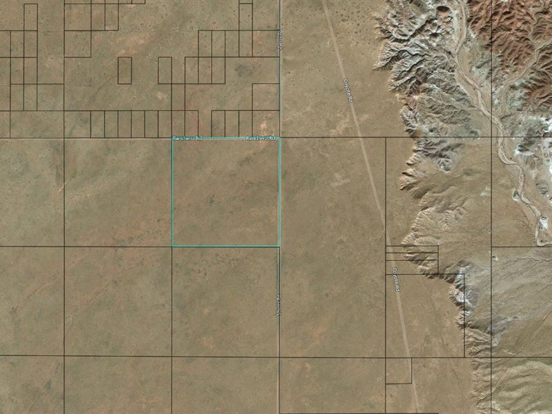 40 Ac, Near Rt 66, Navajo County : Holbrook : Navajo County : Arizona