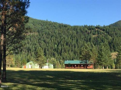 Gone Fishing : Noxon : Sanders County : Montana