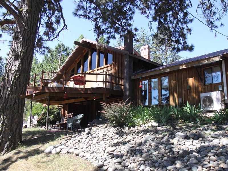 White Bird Lodge : Grangeville : Idaho County : Idaho