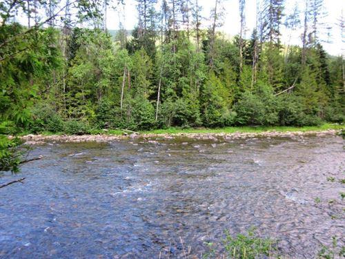 Yaak Off-Grid Dream Property : Yaak : Lincoln County : Montana