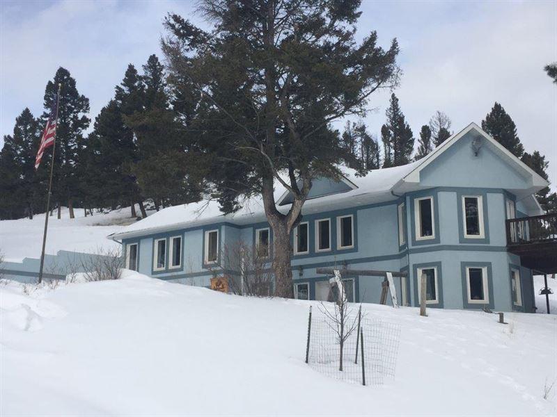 Montana Ranch : Helmville : Powell County : Montana