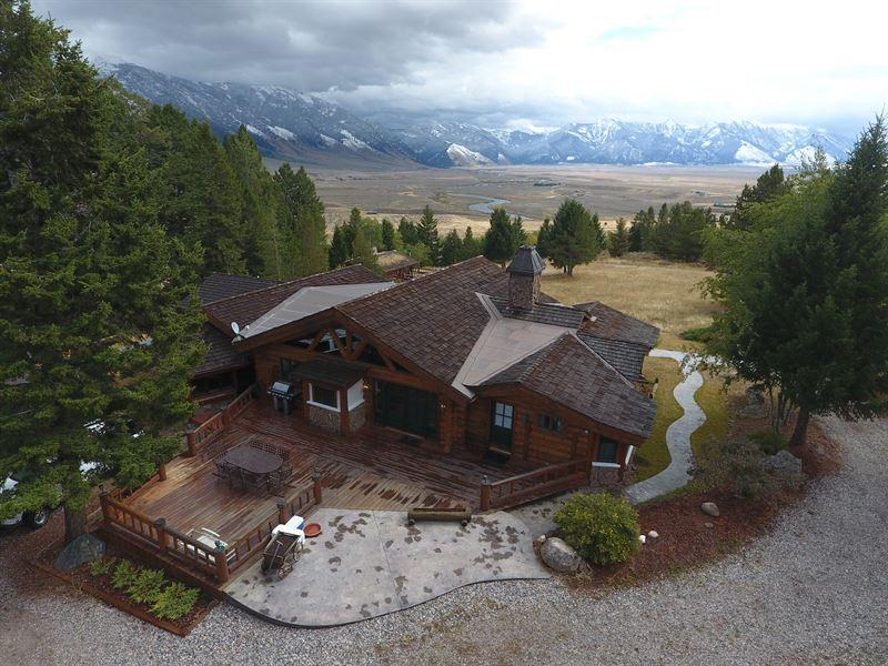 Sundance Bench Ranch : Ennis : Madison County : Montana