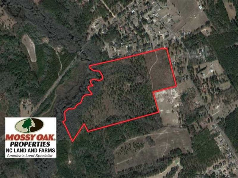 Under Contract, 67.61 Acres of Hu : Laurinburg : Scotland County : North Carolina
