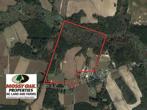 Under Contract, 113 Acres of Farm : Fairmont : Robeson County : North Carolina