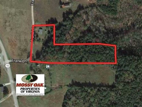 Reduced, 5 Acres of Residential : Bracey : Mecklenburg County : Virginia