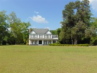 4 Br Home Private Lake Timber : Jeffersonville : Twiggs County : Georgia