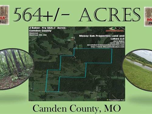 564 Mixed Use Property In Camde : Montreal : Camden County : Missouri