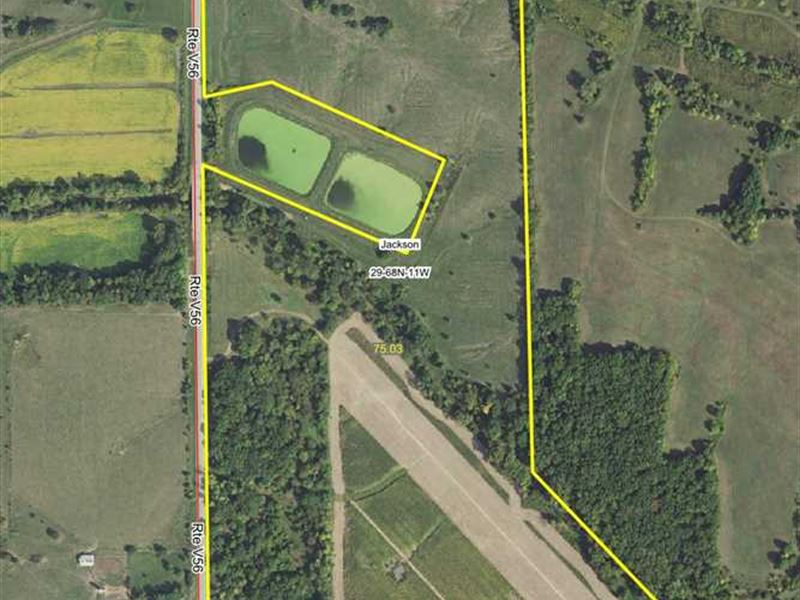 75 Acres M/L Combination Farm For : Milton : Van Buren County : Iowa