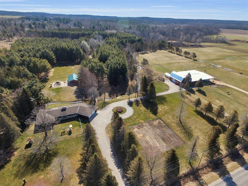 Michigan Farm For Sale : Branch : Lake County : Michigan