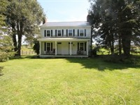 Historic Home & Cattle Farm : Rural Retreat : Wythe County : Virginia