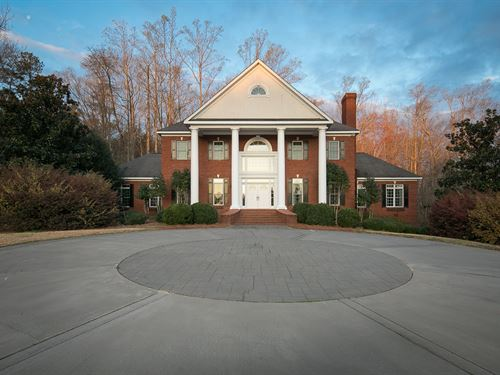 Beautiful Estate Home With Lake : Monroe : Walton County : Georgia