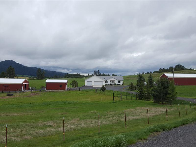 Latah County Farm Living : Deary : Latah County : Idaho