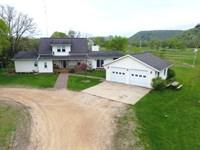 Idyllic Blue River Homestead : Blue River : Grant County : Wisconsin
