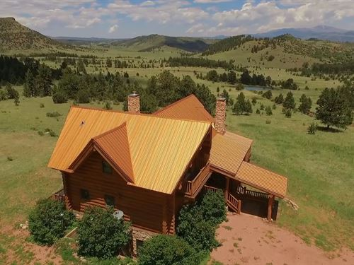 Whispering Aspen Ranch : Canon City : Fremont County : Colorado
