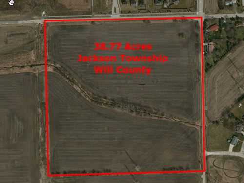 38 Ac Millsdale Rd : Elwood : Will County : Illinois