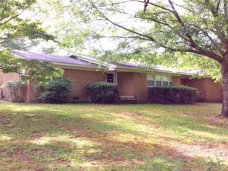 S Brunson Chapel Road Tract : Brantley : Crenshaw County : Alabama