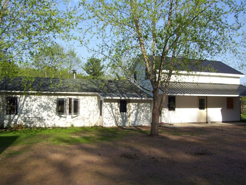 Hobby Farm For Sale : Granton : Clark County : Wisconsin