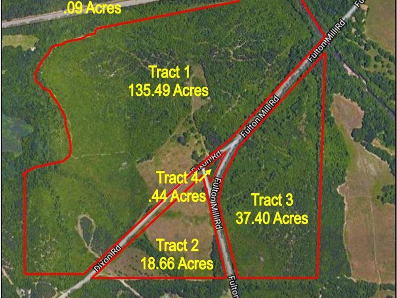 192 Acre Development Site : Macon : Bibb County : Georgia
