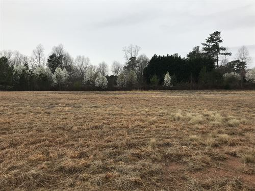 Level, Cleared, Ready 4 Commercial : Inman : Spartanburg County : South Carolina