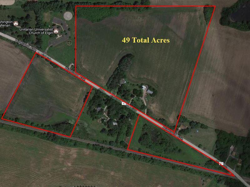 49 Ac Elgin Development Site : Elgin : Kane County : Illinois