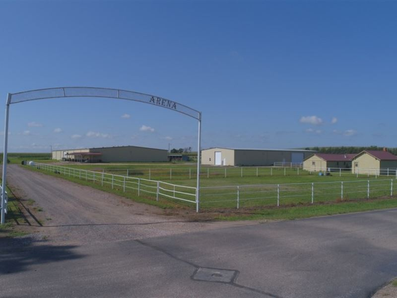 Madrid Indoor Arena : Madrid : Perkins County : Nebraska