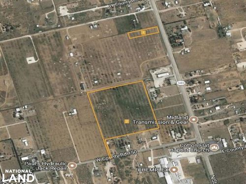 Great Business Location Minutes to : Midland : Texas