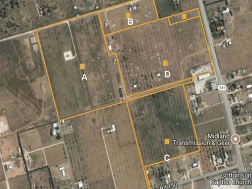 Great Commercial Business Location : Midland : Texas