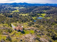 Exceptional Mesa Grande Estate : Santa Ysabel : San Diego County : California