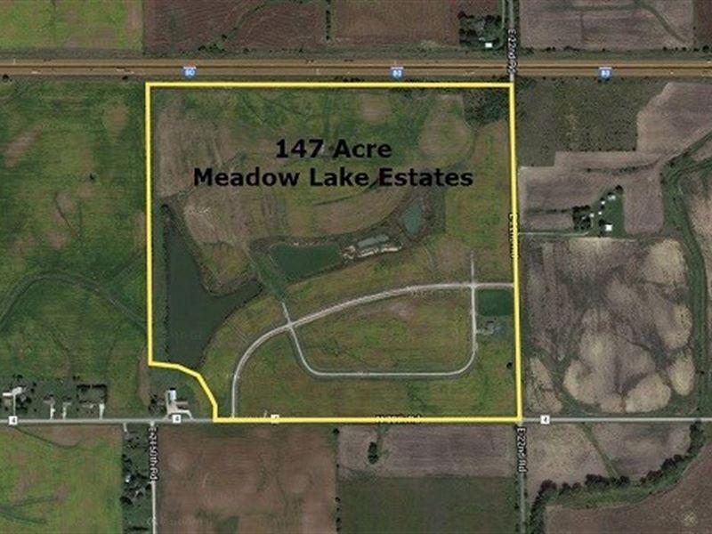 147 Ac Meadow Lake Estates : Ottawa : LaSalle County : Illinois