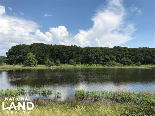 Pasture, Timber, Fishing Lake, Near : Mabank : Kaufman County : Texas