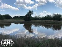 10.75 Acres Kaufman County, Pond : Mabank : Kaufman County : Texas