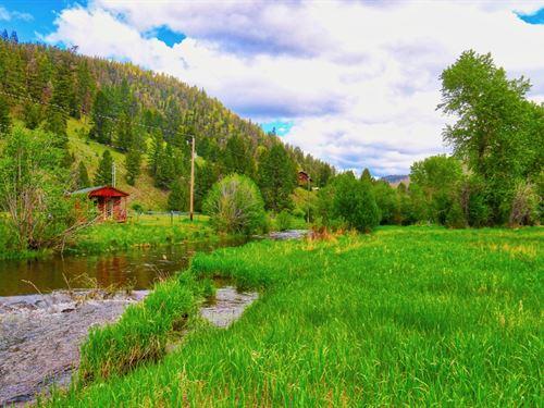 Rare Rock Creek : Philipsburg : Granite County : Montana