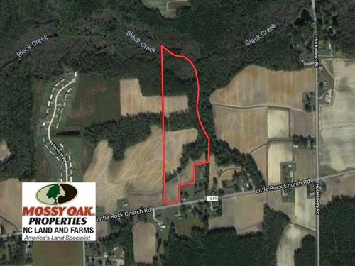Under Contract, 22.63 Acres of Fa : Lucama : Wilson County : North Carolina