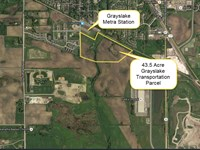 Grayslake Transportation Parcel : Grayslake : Lake County : Illinois