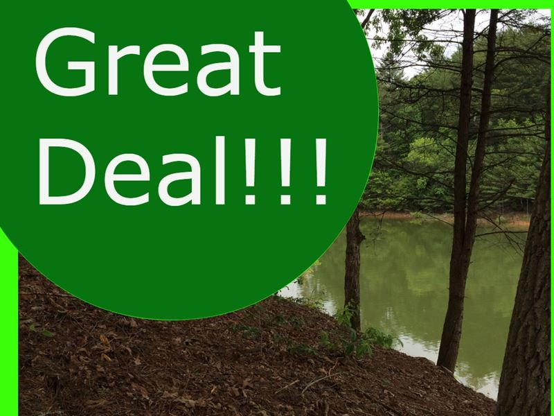Cheap Lake Front Equestrian Park : Blairsville : Union County : Georgia