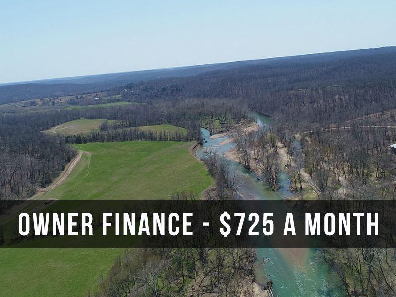 10 Acres On The Niangua River : Lebanon : Laclede County : Missouri